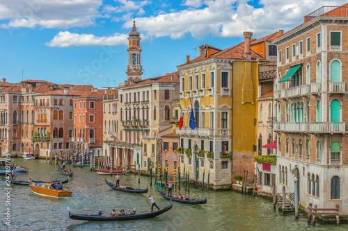 Zdjęcia na płótnie, fototapety na wymiar, obrazy na ścianę : Canal Grande, Venice, Italy, Europe
