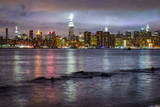 New York City skyline from the Hudson River, United States
