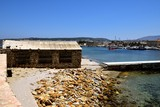 Asbestos cement roof building in the harbour of Chania - 242902165