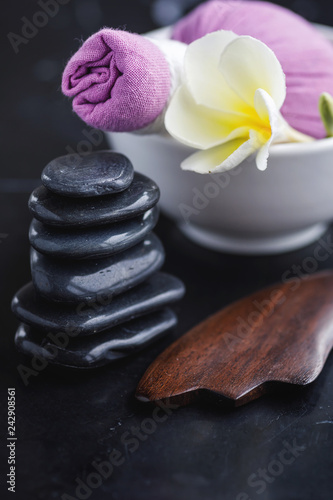 Tools for different kinds of asian massages