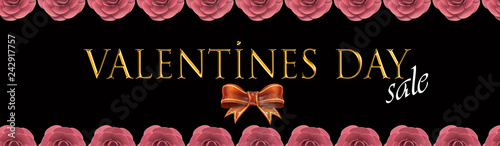 Valentines day card and sale card - 242917757