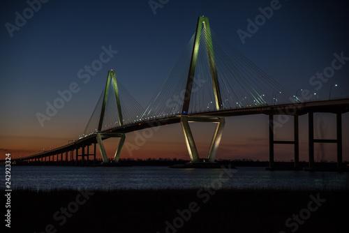 Foto Murales Arthur Ravenel Bridge Charleston SC