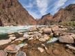 Granite Rapids and the Colorado River in Grand Canyon National Park, Arizona.