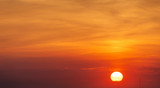 abstract sunset sky - 242941351
