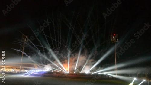 name:fountain at night