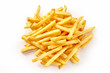 Pile of french fries from above