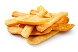 Depth sight of steak fried pommes frites - 242961504