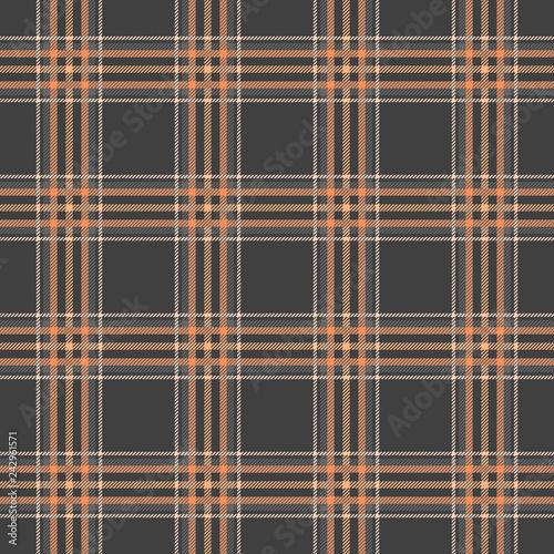Classic tartan, Merry Christmas seamless patterns. © HandDraw