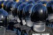 Quadro 街を守る警察の機動隊
