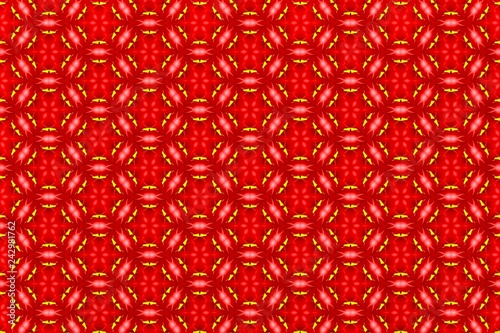 Abstract beautiful pattern for design. Can be used as fabric, template - 242981762