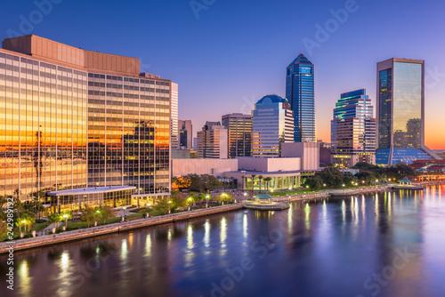 Jacksonville, Florida, USA downtown