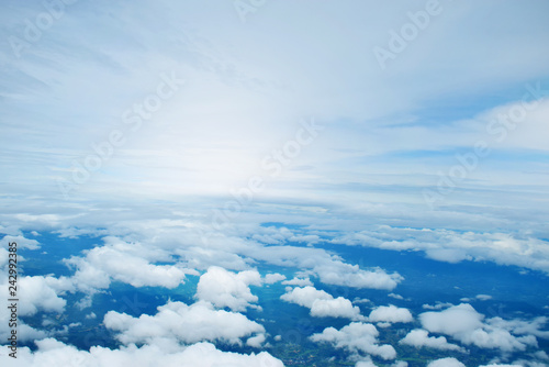 Sky cloud for background - 242992385