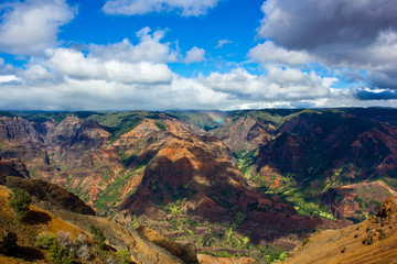 Waimea Canyon auf Kauai in Hawaii