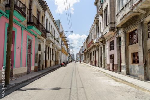 obraz PCV Street view in Havana, Cuba