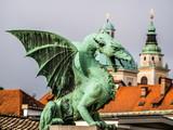 Dragon in Ljubljana