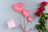 cookie for Valentine day - 242999739