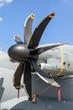 Mondern transport airplane turboprop propellor engine