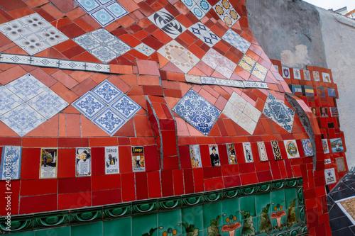 Rio de Janeiro,Escadaría de Selaron