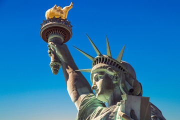 American symbol - Statue of Liberty. New York