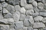 Round  & pentagon Black stone pattern background & wallpaper - 243011191