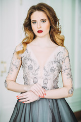 beautiful elegant woman © Andrey Kiselev