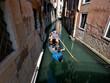 Uno de los canales de la ciudad italiana de Venecia.