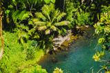 Einsame kleine Insel vor Hawaii, Oahu im Pazifik - 243031545