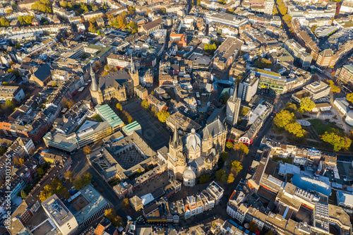 Foto Murales Aachen, Germany from above