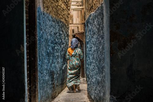 Foto Murales Azul fez