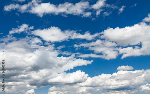 Foto Murales Blue sky with white clouds