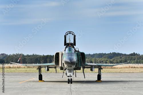 obraz lub plakat 航空自衛隊のF-4EJ