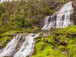 Svandalsfossen in Norway, Ryfylke route - 243096758