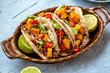 Tacos Süßkartoffel Mexikanisch - 243125578