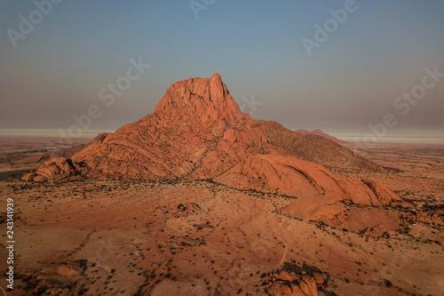 spitzkoppen namibia mountain