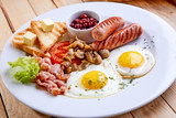 breakfast in the cafe - 243159917