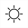 Brightness Icon, Intensity Setting