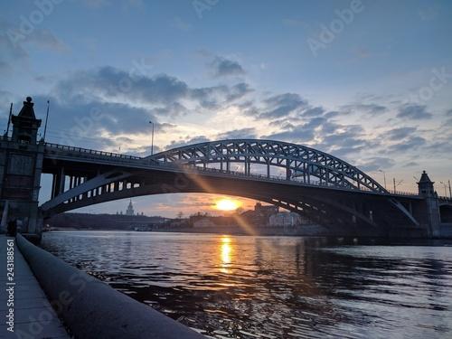 mata magnetyczna Moskwa rzeki