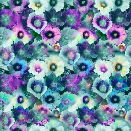 Floral print in multicolor. - 243209562
