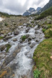 Summer landscape of Malyovitsa peak and Malyoviska river, Rila Mountain, Bulgaria - 243215780