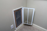 Replacing Dirty Air filter for home air conditioner - 243227786