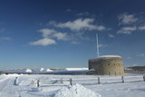 Fort Snelling in Snow - 243231713