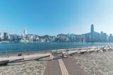 Victoria harbor of Hong Kong city - 243242587
