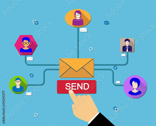 Global simultaneous emailing to worldwide subscribers - 243245377