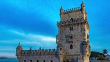 Tower of Belém, Portugal (4k UND time lapse zoom out shoot) - 243253794