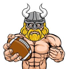 A Viking warrior gladiator American football sports mascot © Christos Georghiou