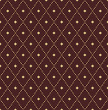 Geometric dotted vector pattern. Seamless abstract brown and golden dotted modern texture for wallpapers and backgrounds - 243261734
