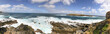 Admirals Arch lookout panoramic coastline view, Flinders Chase National Park, Kangaroo Island