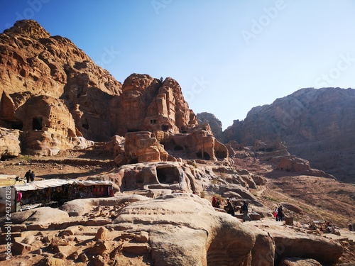 ancient temple in Petra