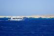 Quadro view from sea boat