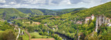 Valley of Lot river, France - 243296350